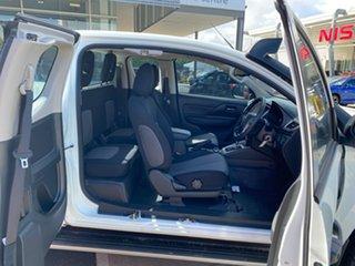 2021 Mitsubishi Triton MR MY21 GLX+ Club Cab White 6 Speed Sports Automatic Utility