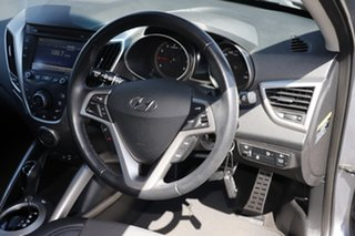 2016 Hyundai Veloster FS4 Series II Coupe D-CT Silver 6 Speed Sports Automatic Dual Clutch Hatchback