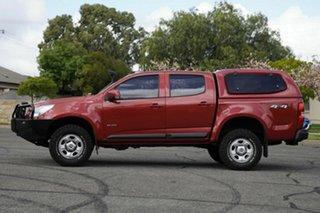 2012 Holden Colorado RG MY13 LX Crew Cab Red 6 Speed Sports Automatic Utility