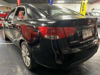 2012 Kia Cerato TD MY12 S Black 6 Speed Sports Automatic Sedan