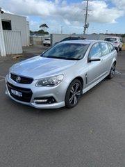 2015 Holden Commodore VF MY15 SV6 Sportwagon Storm Silver 6 Speed Sports Automatic Wagon.