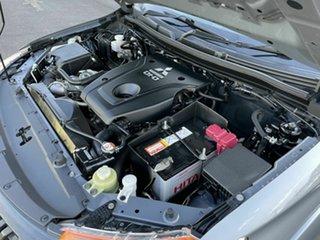 2016 Mitsubishi Triton MQ GLX+ Grey 5 Speed Automatic Dual Cab