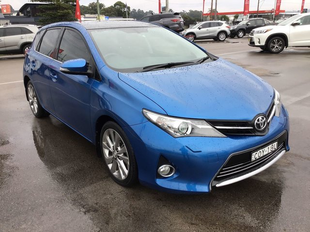 Pre-Owned Toyota Corolla ZRE182R Levin ZR Cardiff, 2013 Toyota Corolla ZRE182R Levin ZR Blue 6 Speed Manual Hatchback