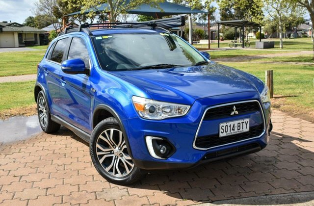 Used Mitsubishi ASX XB MY15 LS Ingle Farm, 2015 Mitsubishi ASX XB MY15 LS Blue 6 Speed Sports Automatic Wagon