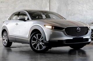 2021 Mazda CX-30 DM2WLA G25 SKYACTIV-Drive Touring Silver 6 Speed Sports Automatic Wagon.
