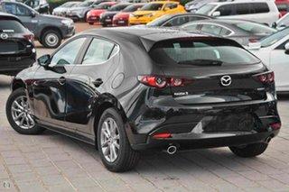 2021 Mazda 3 BP2H7A G20 SKYACTIV-Drive Pure Black 6 Speed Sports Automatic Hatchback