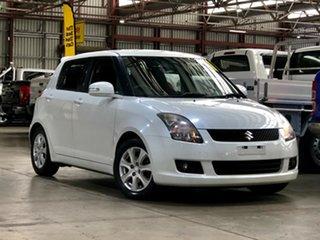2010 Suzuki Swift RS415 RE4 White 5 Speed Manual Hatchback
