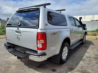 2015 Holden Colorado RG MY15 LTZ Crew Cab Silver 6 Speed Sports Automatic Utility.