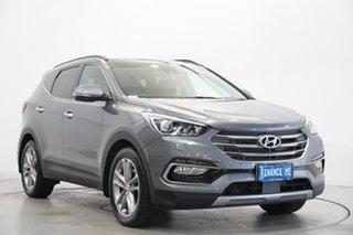 2016 Hyundai Santa Fe DM3 MY16 Highlander Grey 6 Speed Sports Automatic Wagon.