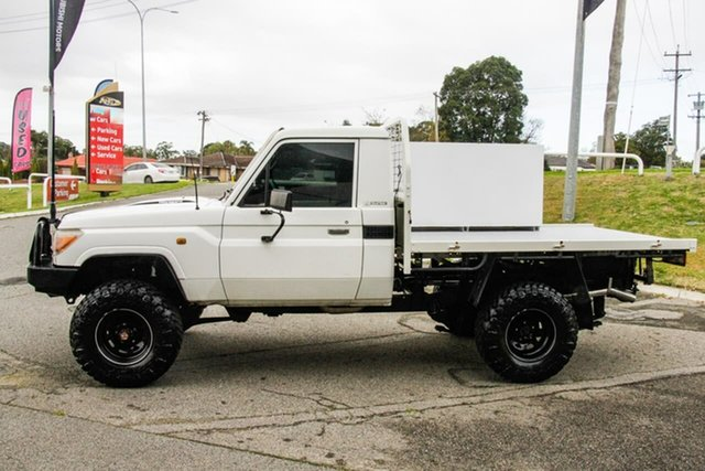 Used Toyota Landcruiser VDJ79R Workmate Melville, 2009 Toyota Landcruiser VDJ79R Workmate White 5 Speed Manual Cab Chassis