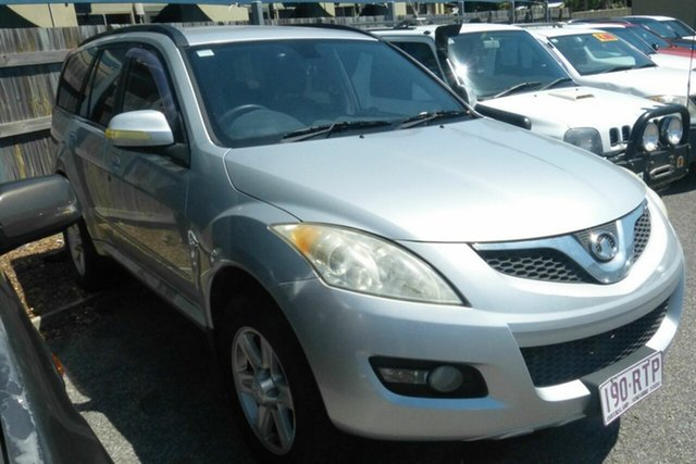 Used Great Wall X240 CC6460KY Gladstone, 2011 Great Wall X240 CC6460KY Silver 5 Speed Manual Wagon