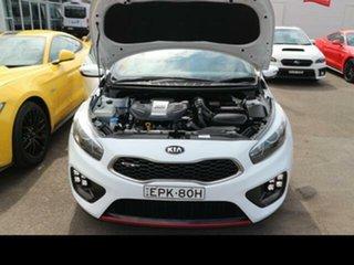 2014 Kia Pro_ceed JD GT White 6 Speed Manual Hatchback