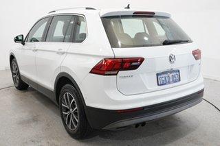 2017 Volkswagen Tiguan 5N MY18 110TSI DSG 2WD Comfortline White 6 Speed Sports Automatic Dual Clutch.