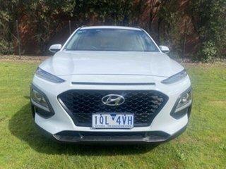2019 Hyundai Kona OS.2 MY19 Active (FWD) White 6 Speed Automatic Wagon.
