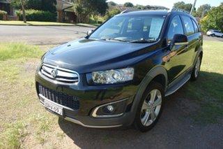2014 Holden Captiva CG MY14 5 AWD LTZ Black 6 Speed Sports Automatic Wagon.