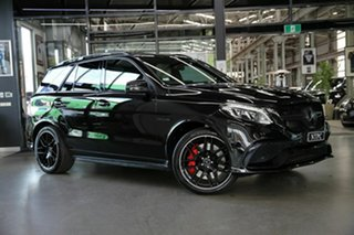 2016 Mercedes-Benz GLE-Class W166 807MY GLE63 AMG SPEEDSHIFT PLUS 4MATIC S Black 7 Speed.