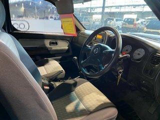 2012 Nissan Navara D22 S5 ST-R Blue 5 Speed Manual Utility