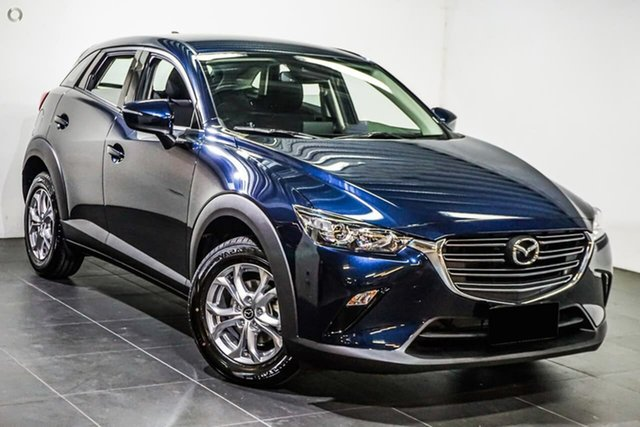 New Mazda CX-3 DK2W7A Maxx SKYACTIV-Drive FWD Sport Waitara, 2021 Mazda CX-3 DK2W7A Maxx SKYACTIV-Drive FWD Sport Blue 6 Speed Sports Automatic Wagon