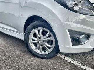 2013 Holden Barina Spark MJ MY14 CD White 4 Speed Automatic Hatchback