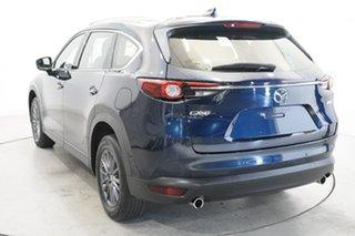2019 Mazda CX-8 KG2W2A Sport SKYACTIV-Drive FWD Deep Crystal Blue 6 Speed Sports Automatic Wagon.