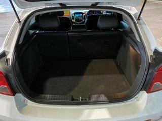 2011 Holden Cruze JH Series II MY12 SRi White 6 Speed Manual Hatchback