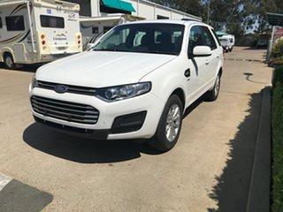 2015 Ford Territory SZ MkII TX Seq Sport Shift AWD White 6 speed Automatic Wagon.