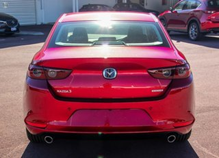 2021 Mazda 3 BP2S7A G20 SKYACTIV-Drive Touring Red 6 Speed Sports Automatic Sedan.