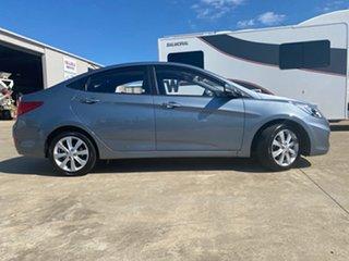 2018 Hyundai Accent RB6 MY19 Sport Grey 6 Speed Sports Automatic Sedan.