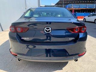 2021 Mazda 3 BP2SLA G25 SKYACTIV-Drive Astina Deep Crystal Blue 6 Speed Sports Automatic Sedan