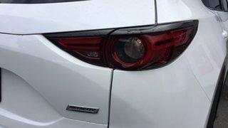 2017 Mazda CX-5 KF4WLA Maxx SKYACTIV-Drive i-ACTIV AWD Sport White 6 Speed Sports Automatic Wagon