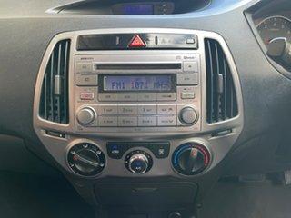 2014 Hyundai i20 PB MY14 Active Phantom Black 4 Speed Automatic Hatchback