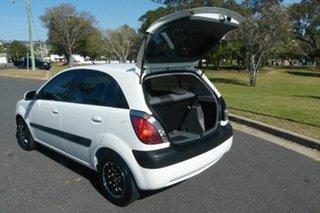 2009 Kia Rio JB MY09 LX White 4 Speed Automatic Hatchback