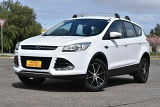 2014 Ford Kuga TF MY15 Ambiente 2WD White 6 Speed Sports Automatic Wagon