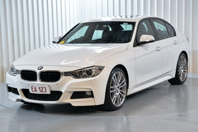 Used BMW 3 Series F30 MY0813 335i M Sport Hendra, 2013 BMW 3 Series F30 MY0813 335i M Sport White 8 Speed Sports Automatic Sedan