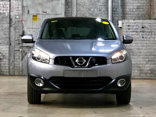 2012 Nissan Dualis J10 Series II MY2010 +2 Hatch X-tronic Ti Grey 6 Speed Constant Variable.
