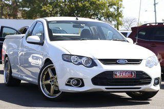 2013 Ford Falcon FG MkII XR6 Ute Super Cab White 6 Speed Sports Automatic Utility.