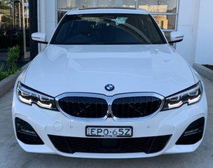 2020 BMW 3 Series G20 330i Steptronic M Sport Alpine White 8 Speed Sports Automatic Sedan.