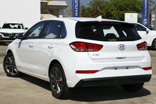 2021 Hyundai i30 PD.V4 MY22 Active Polar White 6 Speed Sports Automatic Hatchback.