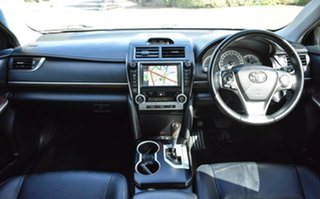 2011 Toyota Camry ASV50R Atara SL White 6 Speed Sports Automatic Sedan.