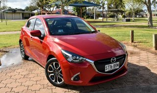 2017 Mazda 2 DJ2HAA Genki SKYACTIV-Drive Red 6 Speed Sports Automatic Hatchback.