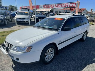 2004 Holden Commodore VY II Executive White 4 Speed Automatic Wagon.