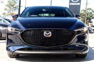 2021 Mazda 3 BP2HLA G25 SKYACTIV-Drive GT Blue 6 Speed Sports Automatic Hatchback.