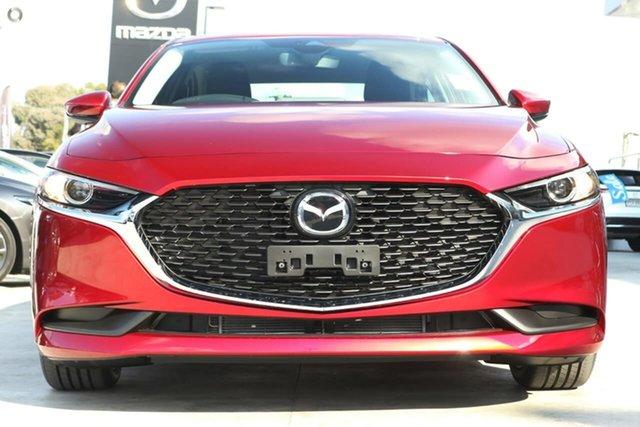 New Mazda 3 BP2SLA G25 SKYACTIV-Drive Evolve Waitara, 2021 Mazda 3 BP2SLA G25 SKYACTIV-Drive Evolve Red 6 Speed Sports Automatic Sedan