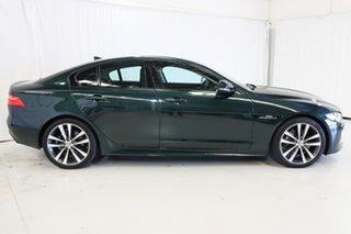 2015 Jaguar XE X760 MY16 R-Sport Green 8 Speed Sports Automatic Sedan.