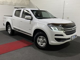 2017 Holden Colorado RG MY17 LS Pickup Crew Cab Olympic White 6 Speed Sports Automatic Utility.
