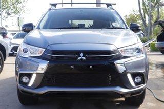 2019 Mitsubishi ASX XC MY19 Black Edition 2WD Grey 1 Speed Constant Variable Wagon.