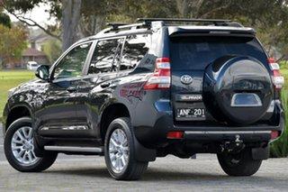 2017 Toyota Landcruiser Prado GDJ150R Kakadu Blue 6 Speed Sports Automatic Wagon.