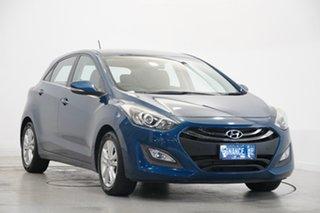 2013 Hyundai i30 GD Active Dazzling Blue 6 Speed Sports Automatic Hatchback