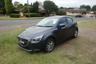 2015 Mazda 2 DJ2HAA Neo SKYACTIV-Drive Grey 6 Speed Sports Automatic Hatchback.