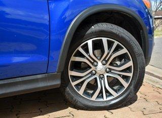 2015 Mitsubishi ASX XB MY15 LS Blue 6 Speed Sports Automatic Wagon